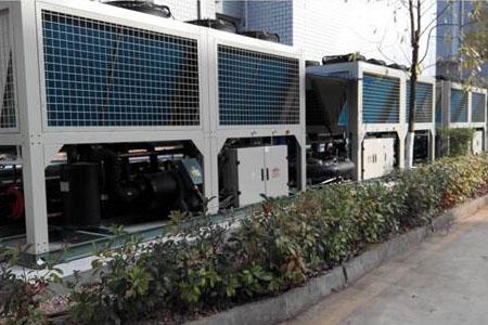 乌市低温空气源热泵集中供暖冬季稳定40度热水